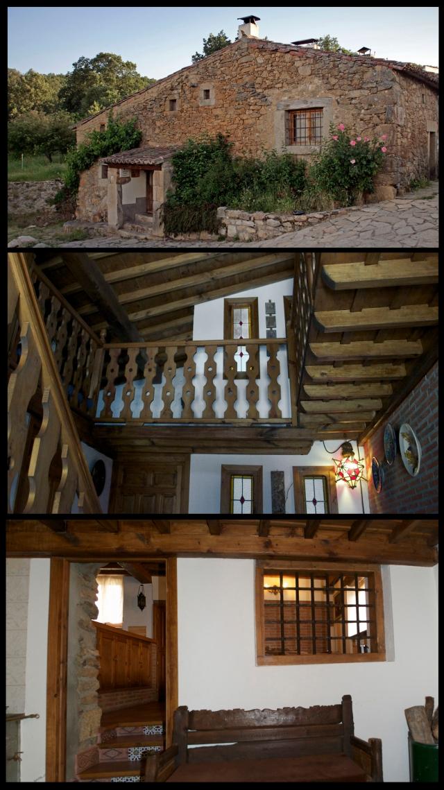 Ejemplo de construcción de una casa rural