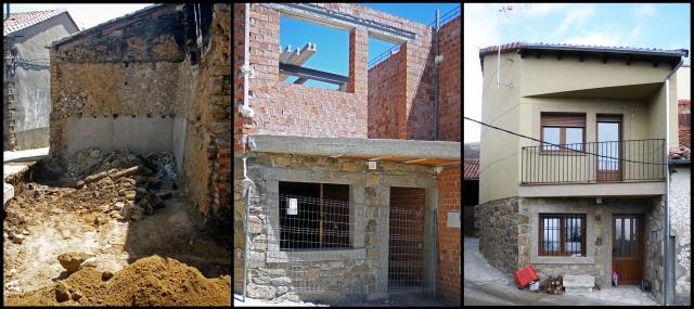 Ejemplo de construcción de vivienda unifamilar